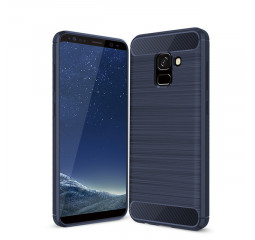 Чехол для смартфона Samsung Galaxy A8 Shockproof Soft Armor /Blue
