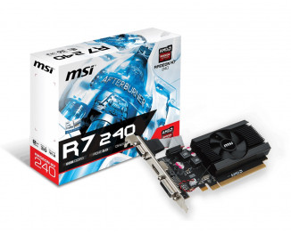 Видеокарта MSI Radeon R7 240 (R7 240 2GD3 64b LP)