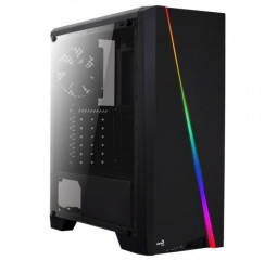 Корпус AeroCool PGS CYLON BG (Black) RGB_glass side panel