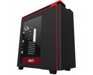 Корпус NZXT H440 Black Red Window (CA-H442W-M1)