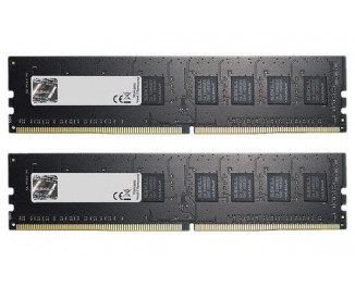 Оперативная память DDR4 8 Gb (2400 MHz) (Kit 4 Gb x 2) G.SKILL Value NT (F4-2400C17D-8GNT)