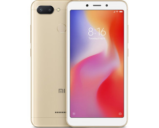 Смартфон Xiaomi Redmi 6 4/64Gb Gold |Global|