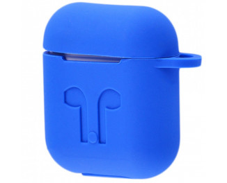 Чехол Silicone Case for Air Pods /Tahoe Blue
