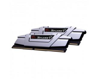Оперативная память DDR4 16 Gb (3000 MHz) (Kit 8 Gb x 2) G.SKILL Ripjaws V Radiant Silver (F4-3000C15D-16GVS)