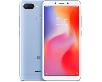 Смартфон Xiaomi Redmi 6 3/32Gb Blue |Global|