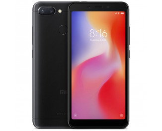 Смартфон Xiaomi Redmi 6 4/64Gb Black |Global|