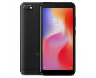 Смартфон Xiaomi Redmi 6A 2/16Gb Black |Global|
