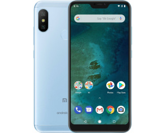 Смартфон Xiaomi Mi A2 Lite 4/64Gb Blue |Global|