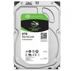 Жесткий диск 8 TB Seagate BarraCuda (ST8000DM004)