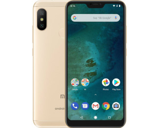 Смартфон Xiaomi Mi A2 Lite 4/64Gb Gold |Global|