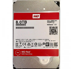 Жесткий диск 8 TB WD Red (WD80EFAX)