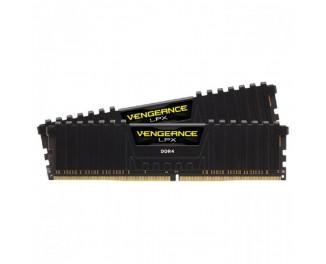 Оперативная память DDR4 16 Gb (3200 MHz) (Kit 8 Gb x 2) Corsair Vengeance LPX (CMK16GX4M2B3200C16)