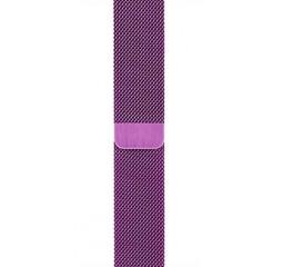 Металлический ремешок для Apple Watch 38/40 mm Milanese Loop Purple