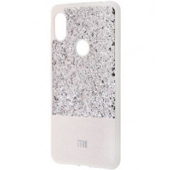 Чехол для смартфона Xiaomi Redmi S2  Label Case Leather+Shining /Silver