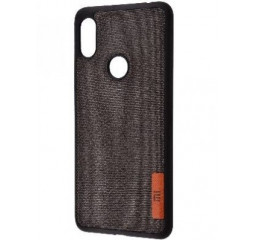 Чехол для смартфона Xiaomi Redmi S2  Label Case Textile /Black