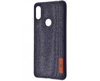Чехол для смартфона Xiaomi Redmi S2  Label Case Textile /blue