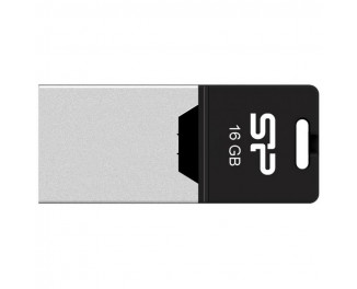 Флешка microUSB 16Gb Silicon Power Mobile X20 Silver (SP016GBUF2X20V1K)