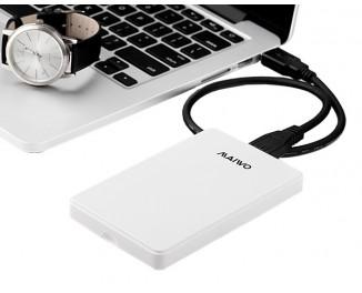 Внешний карман Maiwo K2503D (SATA 2.5 to USB 3.0 Type A) /White