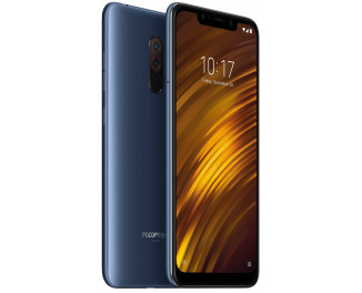 Смартфон Xiaomi Pocophone F1 6/128Gb Steel Blue |Global|