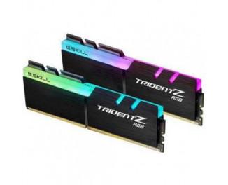 Оперативная память DDR4 32 Gb (3000 MHz) (Kit 16 Gb x 2) G.SKILL Trident Z RGB (F4-3000C16D-32GTZR)