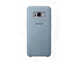 Чехол для смартфона Samsung Galaxy S8+ Alcantara Cover /light blue