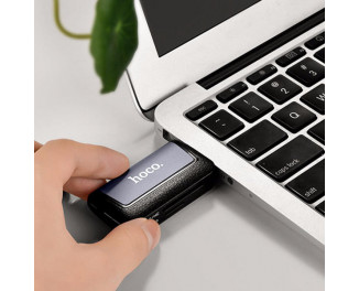 Адаптер USB Type-C > Hub  Hoco HB4 (USB, SD)