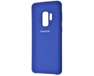 Чехол для смартфона Samsung Galaxy S9+  Silicone Cover /blue