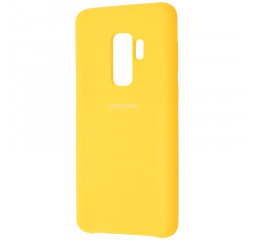 Чехол для смартфона Samsung Galaxy S9+  Silicone Cover /yellow