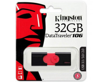 Флешка USB 3.0 32Gb Kingston DataTraveler 106 (DT106/32GB)
