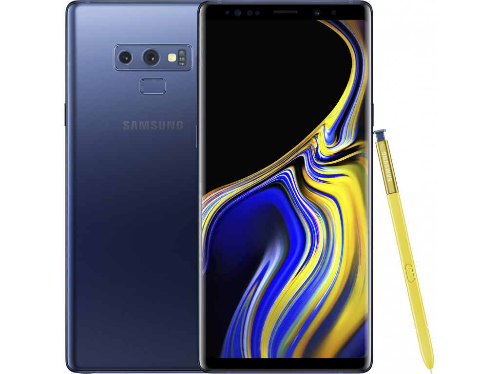 Смартфон Samsung Galaxy Note9 6/128Gb Ocean Blue (N9600) |Snapdragon Ver.|