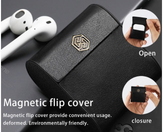 Чехол - зарядка для AirPods  Nillkin Qi Wireless Charging Case /Black