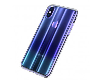 Чехол для Apple iPhone XS Max  Baseus Aurora /blue