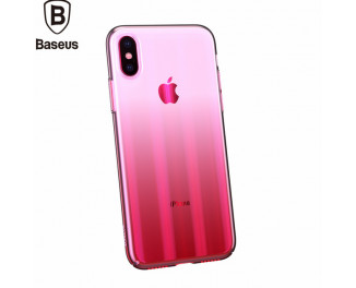 Чехол для Apple iPhone XR Baseus Aurora /pink
