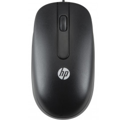 Мышь HP Optical Scroll Black (QY777AA)