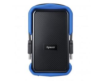 Внешний жесткий диск 1 TB Apacer AC631 Black/Blue (AP1TBAC631U-1)
