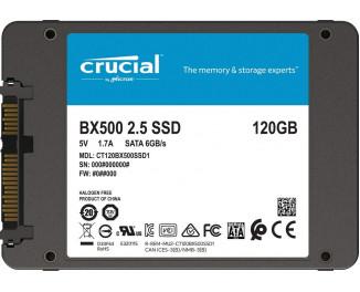 SSD накопитель 120Gb Crucial BX500 (CT120BX500SSD1)