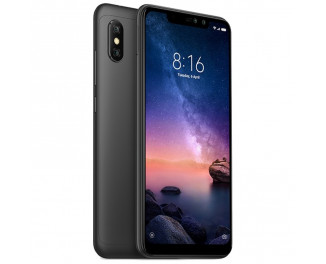 Смартфон Xiaomi Redmi Note 6 Pro 4/64Gb Black |Global|