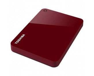 Внешний жесткий диск 1 TB Toshiba Canvio Advance Red (HDTC910ER3AA)
