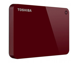 Внешний жесткий диск 1000Gb Toshiba Canvio Advance Red (HDTC910ER3AA)