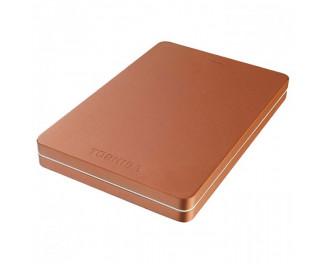 Внешний жесткий диск 1 TB Toshiba Canvio Alu 2018 Red (HDTH310ER3AB)