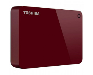 Внешний жесткий диск 3000Gb Toshiba Canvio Advance Red (HDTC930ER3CA)
