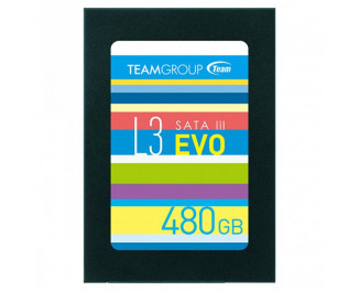 SSD накопитель 480Gb Team L3 EVO (T253LE480GTC101)