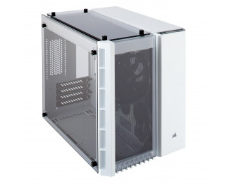 Корпус Corsair Crystal Series 280X Tempered Glass Micro ATX Case — White (CC-9011136-WW)