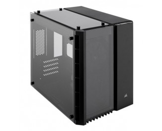 Корпус Corsair Crystal Series 280X Tempered Glass Micro ATX PC Case — Black (CC-9011134-WW)