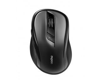 Мышь беспроводная Rapoo M500 Silent Black