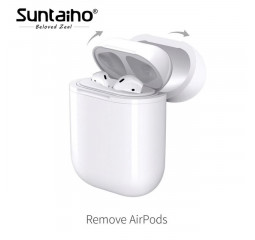 Чехол - зарядка для AirPods Qi Wireless Charging Case /White