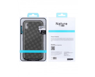 Чехол для Apple iPhone XS NILLKIN Nature TPU Weave Case /black