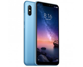 Смартфон Xiaomi Redmi Note 6 Pro 4/64Gb Blue |Global|