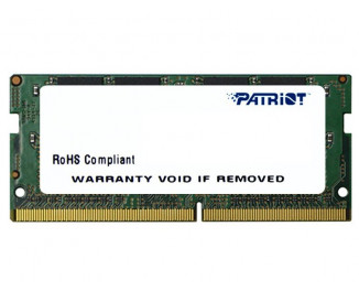 Память для ноутбука SO-DIMM DDR4 16 Gb (2400 MHz) Patriot Signature Line (PSD416G24002S)
