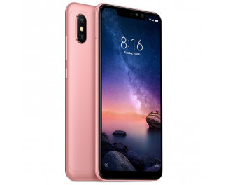 Смартфон Xiaomi Redmi Note 6 Pro 3/32Gb Rose Gold |Global|